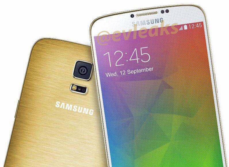 Samsung Galaxy F w kolorze złotym
