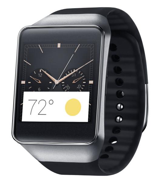 Samsung Gear Live - front