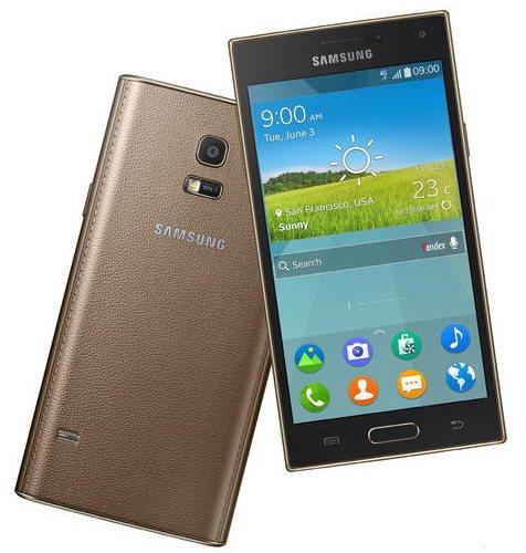 Samsung Z - złoty