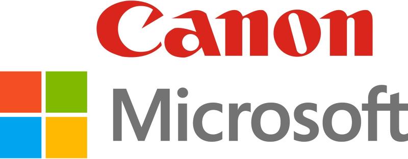 Canon Microsoft