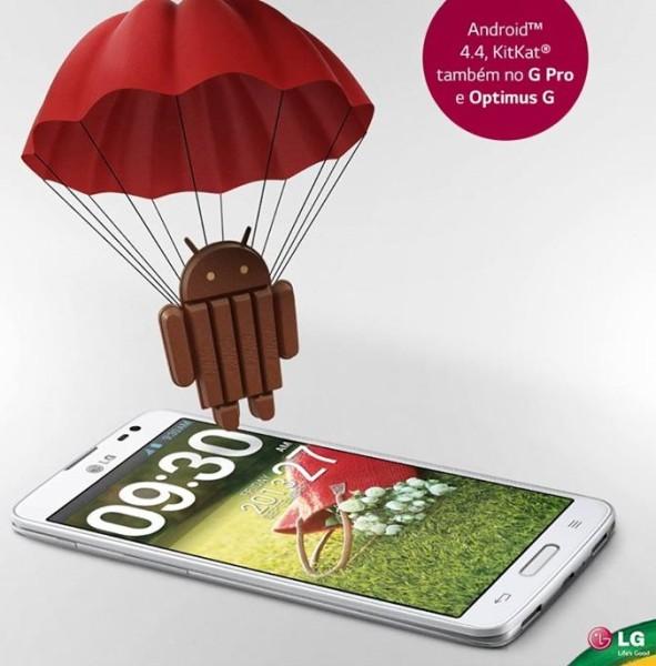 LG - aktualizacje do KitKat