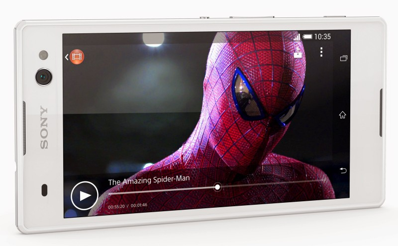 Sony Xperia C3 - front