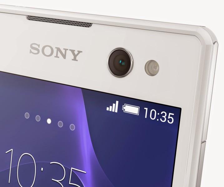 Sony Xperia C3 - przednia kamera