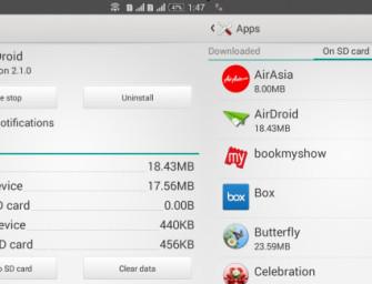 Smartfony Sony Xperia mogą teraz przenosić aplikacje na kartę microSD