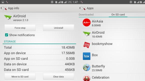Sony Xperia - przenoszenie na microSD