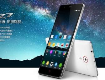 ZTE Nubia Z7: kolejny smartfon z QHD oficjalnie zaprezentowany