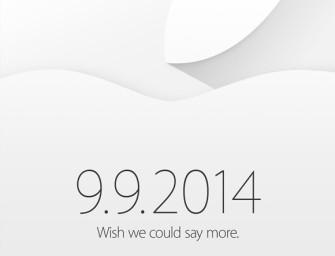 Apple zaprasza na 9 września