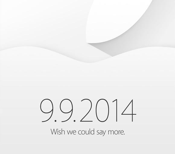 Apple - zaproszenie - 9.9.2014