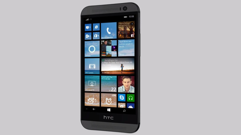 HTC One (M8) for Windows - front