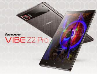 Lenovo zaprezentowało oficjalnie model Vibe Z2 Pro