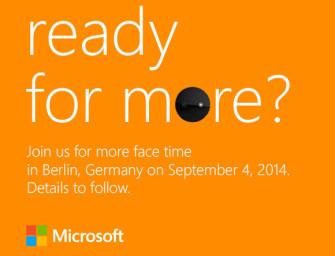 Lumia 830 zadebiutuje na tegorocznych targach IFA?