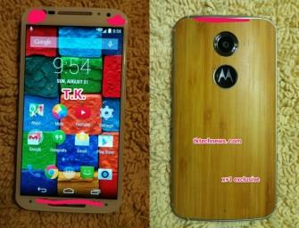 Motorola Moto X+1 pojawiła się na pierwszym zdjęciu prasowym