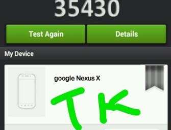 Nexus X – następca Nexusa 5 potwierdzony przez benchmark