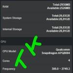 Nexus X - benchmark Antutu - 2