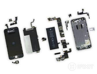 Apple iPhone 6 rozebrany na części – czy smartfon da się łatwo naprawić?