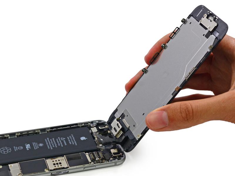 Apple iPhone 6 - rozkręcanie do baterii