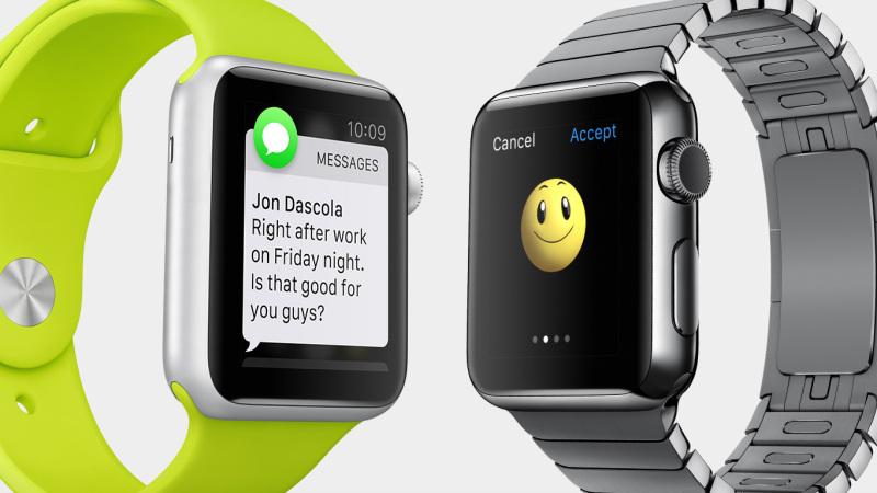 Apple Watch - dwa obok siebie