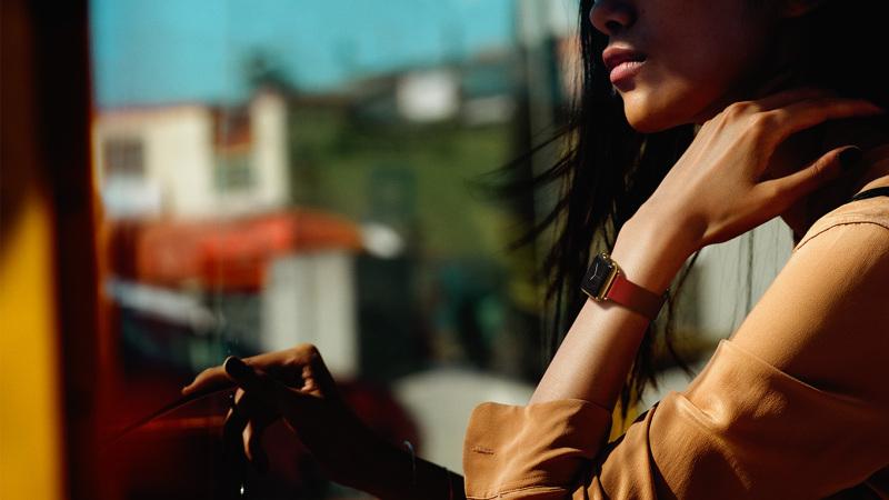 Apple Watch - kobieta