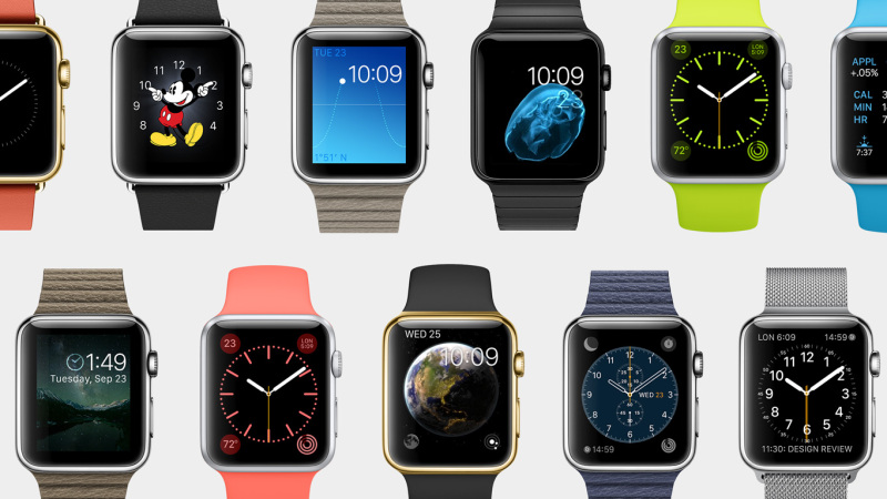Apple Watch - wiele różnych