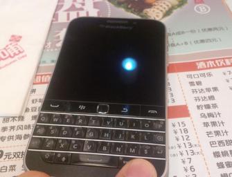 BlackBerry Classic pozuje na nowych zdjęciach
