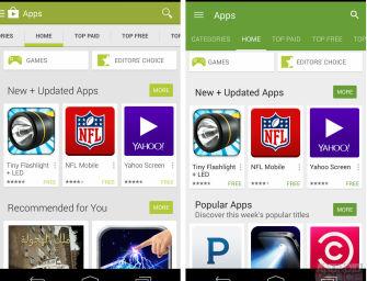 Google Play Store 5.0 – sklep Google już wkrótce z Material Design