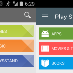 Google Play Store 5.0 - Material Design - 2