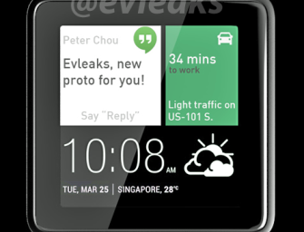Nie będzie inteligentnego zegarka od HTC