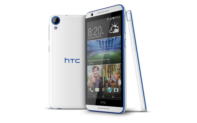 HTC Desire 820 - niebieski