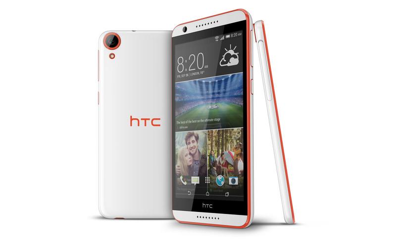HTC Desire 820 - czerwony