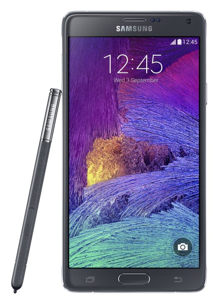 Samsung Galaxy Note 4 - front