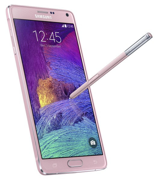 Samsung Galaxy Note 4 - różowy