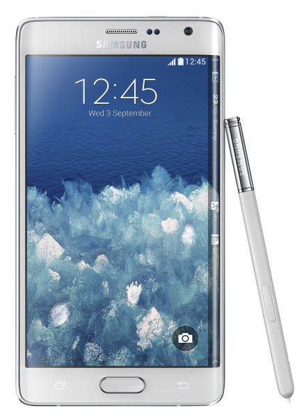 Samsung Galaxy Note Edge - biały, front
