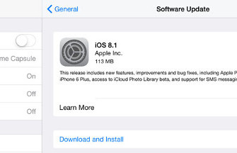 iOS 8.1 już gotowy do ściągnięcia