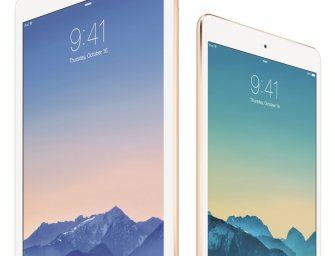 Apple zaprezentowało iPad Air 2 oraz iPad mini 3