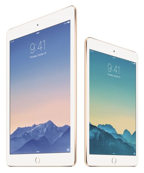 Apple iPad Air 2 i iPad mini 3