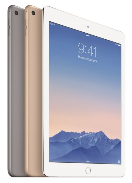 Apple iPad Air 2 - kolory