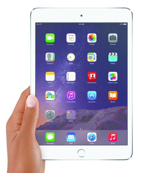 Apple iPad mini 3 - dłoń 2