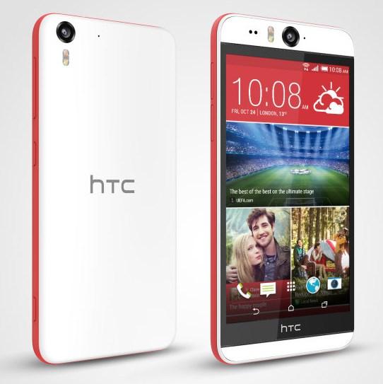 HTC Desire Eye - czerwony