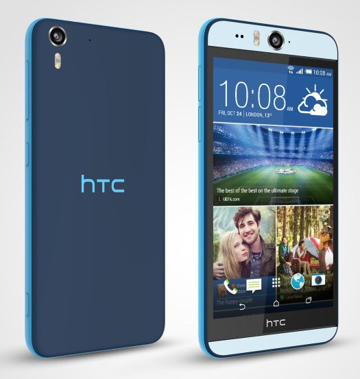 HTC Desire Eye - niebieski