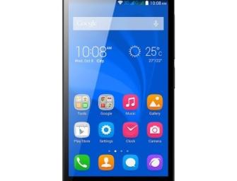 Huawei Honor Holly: 5″ smartfon 720p za niecałe 400 zł