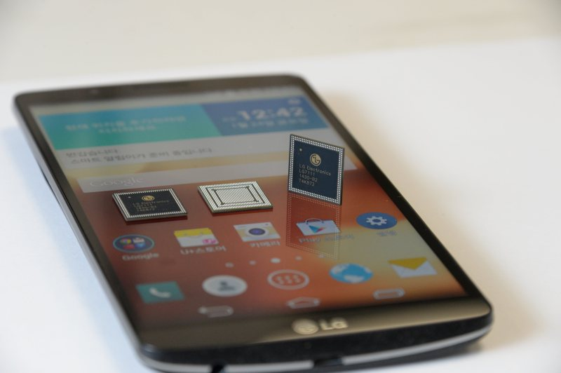 LG G3 Screen oraz chipset NUCLUN