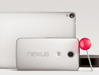 Motorola Nexus 6 i HTC Nexus 9: pierwszy phablet Google i nowy tablet oficjalnie zaprezentowane