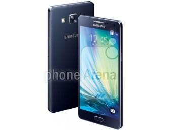Samsung Galaxy Alpha A5 i Alpha A3 sfotografowane