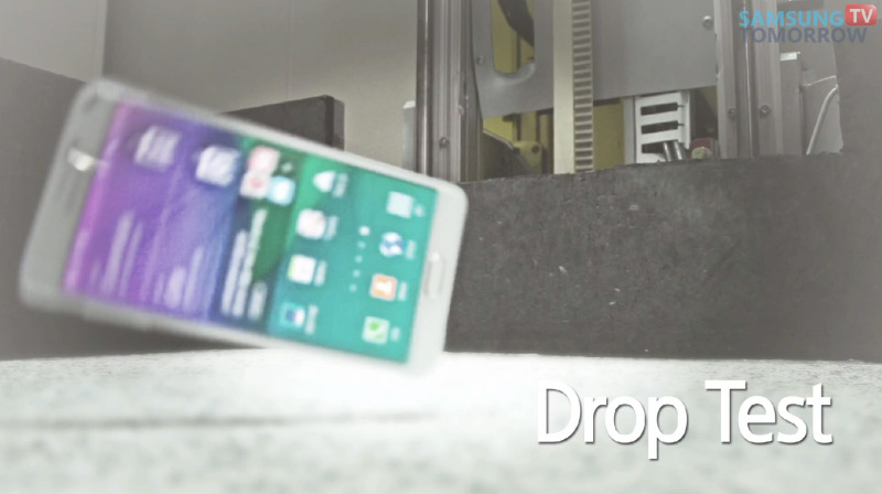 Samsung Galaxy Note 4 - drop test