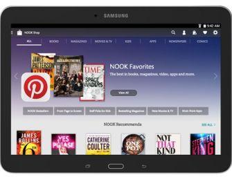 Samsung oraz Barnes & Noble prezentują Galaxy Tab 4 Nook 10.1