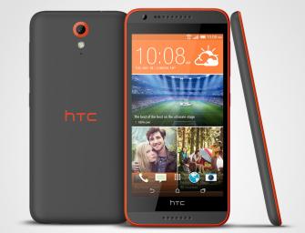 Desire 620 – kolejny smartfon HTC z głośnikami stereo