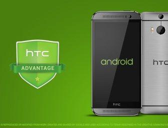 HTC zaktualizuje One M8 i M7 do Lollipop w ciągu 90 dni