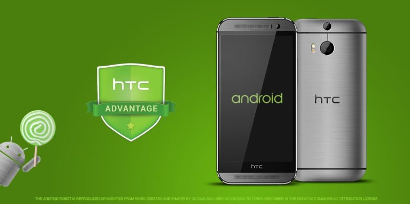 HTC One M8 i M7 - Android 5.0 Lollipop