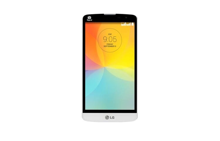 LG L Prime - front 2