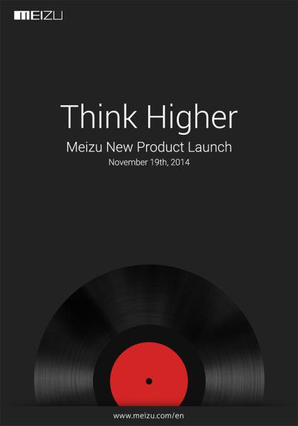 Meizu - zaproszenie na 18 listopada 2014